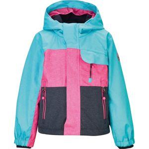 KILLTEC Outdoorová bunda 'Deny'  tyrkysová / kobaltová modř / pink