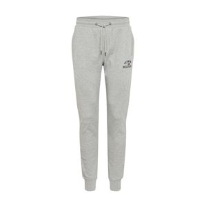 TOMMY HILFIGER Kalhoty 'BASIC EMBROIDERED SWEATPANTS'  šedá