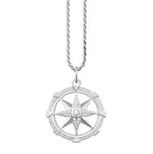 Thomas Sabo Řetízek 'Kompass'  stříbrná