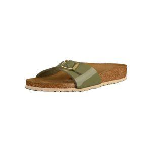 BIRKENSTOCK Pantofle 'Madrid'  khaki