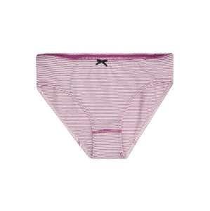 SANETTA Spodní prádlo 'Rioslip striped'  fialová / bílá