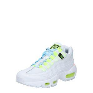 Nike Sportswear Tenisky 'Air Max 95'  bílá / svítivě žlutá / světlemodrá