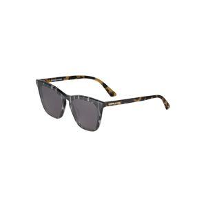 McQ Alexander McQueen Sluneční brýle 'MQ0168S-001 51'  hnědá / černá / bílá