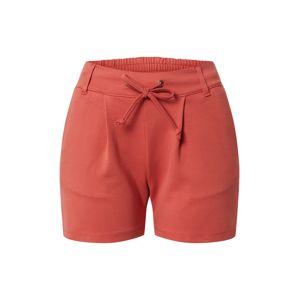 JACQUELINE de YONG Kalhoty  rezavě červená / červená