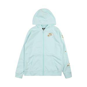 Nike Sportswear Mikina s kapucí 'AIR'  zlatá / mátová