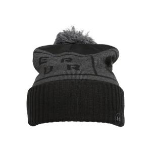 UNDER ARMOUR Sportovní čepice  černá / šedá