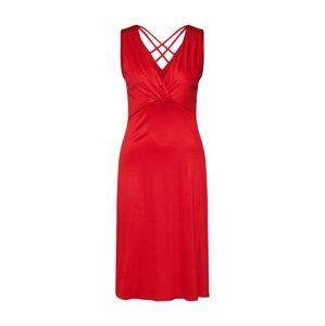 S.Oliver BLACK LABEL Koktejlové šaty  červená