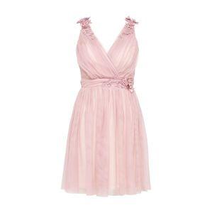 Little Mistress Koktejlové šaty 'Blush'  světle růžová