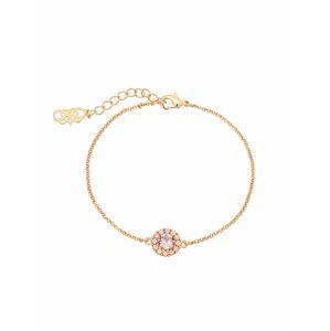 LILY AND ROSE Náramek 'Celeste'  růže / růžově zlatá
