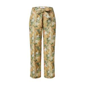 BRAX Kalhoty s puky  žlutá / zelená