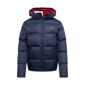 Tommy Jeans Zimní bunda  tmavě modrá