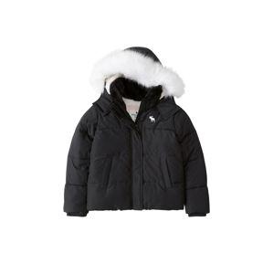 Abercrombie & Fitch Zimní bunda 'ESSENTIAL PUFFER'  černá