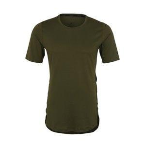 NIKE Funkční tričko  olivová