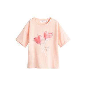 MANGO KIDS Tričko  růžová