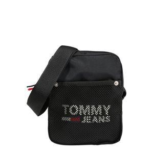 Tommy Jeans Taška přes rameno 'TJM COOL CITY MINI REPORTER'  černá