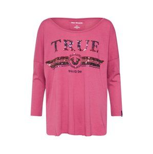 True Religion Tričko 'LS TRUCCI'  pink