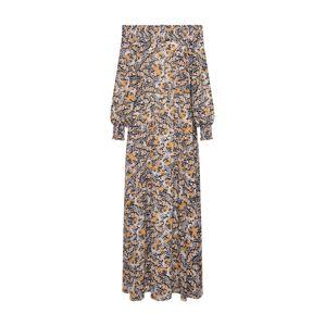 minimum Šaty 'Gardun'  bílá / žlutá / černá