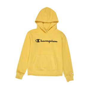 Champion Authentic Athletic Apparel Mikina  zlatě žlutá / černá