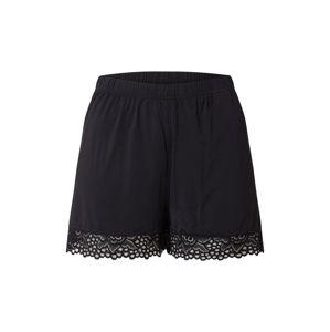 JACQUELINE de YONG Pyžamové kalhoty 'JDYPALMIRA LOUNGEWEAR SHORTS JRS EXP'  černá