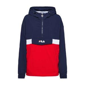 FILA Přechodná bunda 'PAVLINA'  modrá / červená