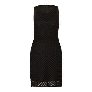 MEXX Koktejlové šaty  černá
