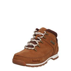 TIMBERLAND Šněrovací boty 'Euro Sprint Hiker'  bílá / světle hnědá