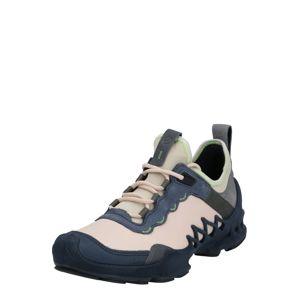 ECCO Šněrovací boty  béžová / růžová / modrá