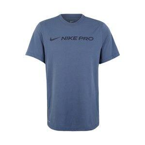 NIKE Funkční tričko  kouřově modrá