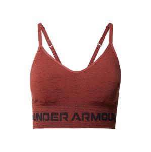 UNDER ARMOUR Sportovní podprsenka  červená / černá