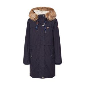Ragwear Plus Zimní parka 'TAWNY PLUS'  námořnická modř