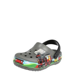 Crocs Otevřená obuv  žlutá / zelená / kouřově šedá / červená / modrá