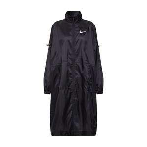 Nike Sportswear Přechodný kabát 'W NSW JKT WVN SWSH'  černá