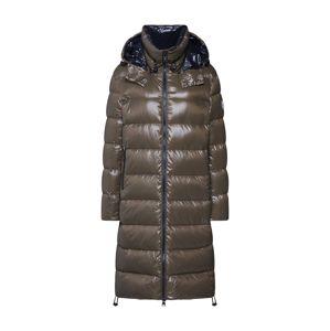 No. 1 Como Zimní kabát 'ALVA'  khaki / černá
