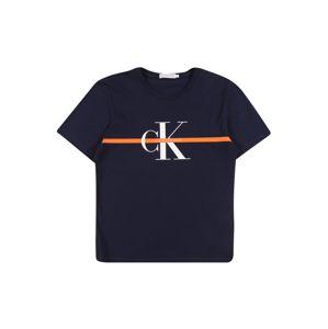 Calvin Klein Jeans Tričko  námořnická modř