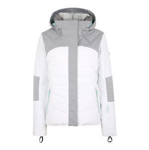 ROXY Outdoorová bunda 'DAKOTA'  světle šedá / bílá
