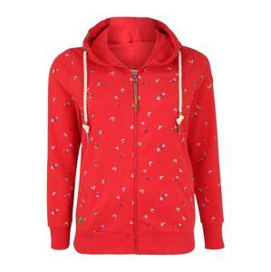 Ragwear Plus Mikina s kapucí  červená