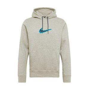 Nike SB Mikina  modrá / šedá