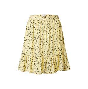 MOSS COPENHAGEN Sukně 'Jillian'  bílá / žlutá