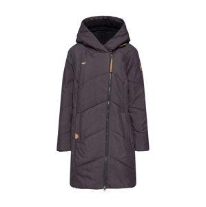 Ragwear Plus Zimní kabát 'MONADIS HEARTS PLUS'  černá