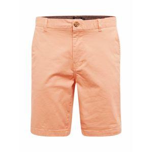 BURTON MENSWEAR LONDON Chino kalhoty  korálová
