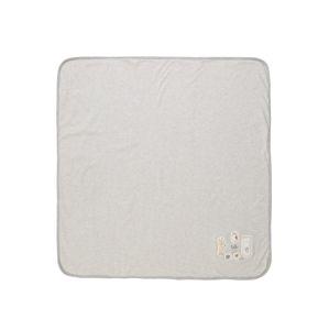 STACCATO Dětská deka  šedý melír / bílá