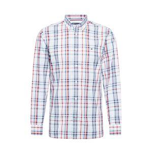 TOMMY HILFIGER Košile  červená / námořnická modř / bílá / azurová