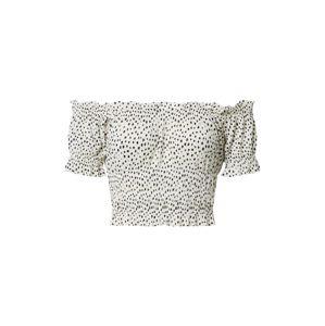 Gina Tricot Tričko 'Elisia'  bílá / černá