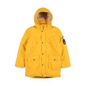 NAME IT Zimní bunda  žlutá