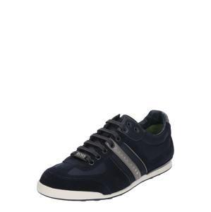 BOSS Sportovní šněrovací boty 'Akeen'  námořnická modř
