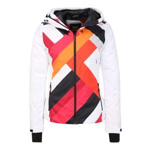 CMP Sportovní bunda  bílá / mix barev