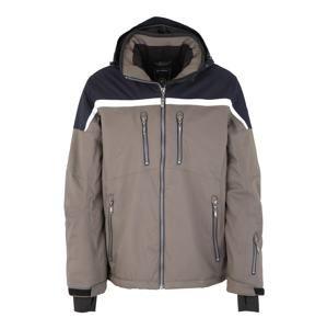 KILLTEC Outdoorová bunda 'Helgro'  noční modrá / režná