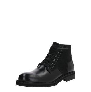 G-STAR RAW Šněrovací boty 'Garber Derby Boot'  černá