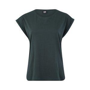 Urban Classics Curvy Tričko  tmavě zelená