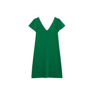 MANGO Letní šaty  zelená